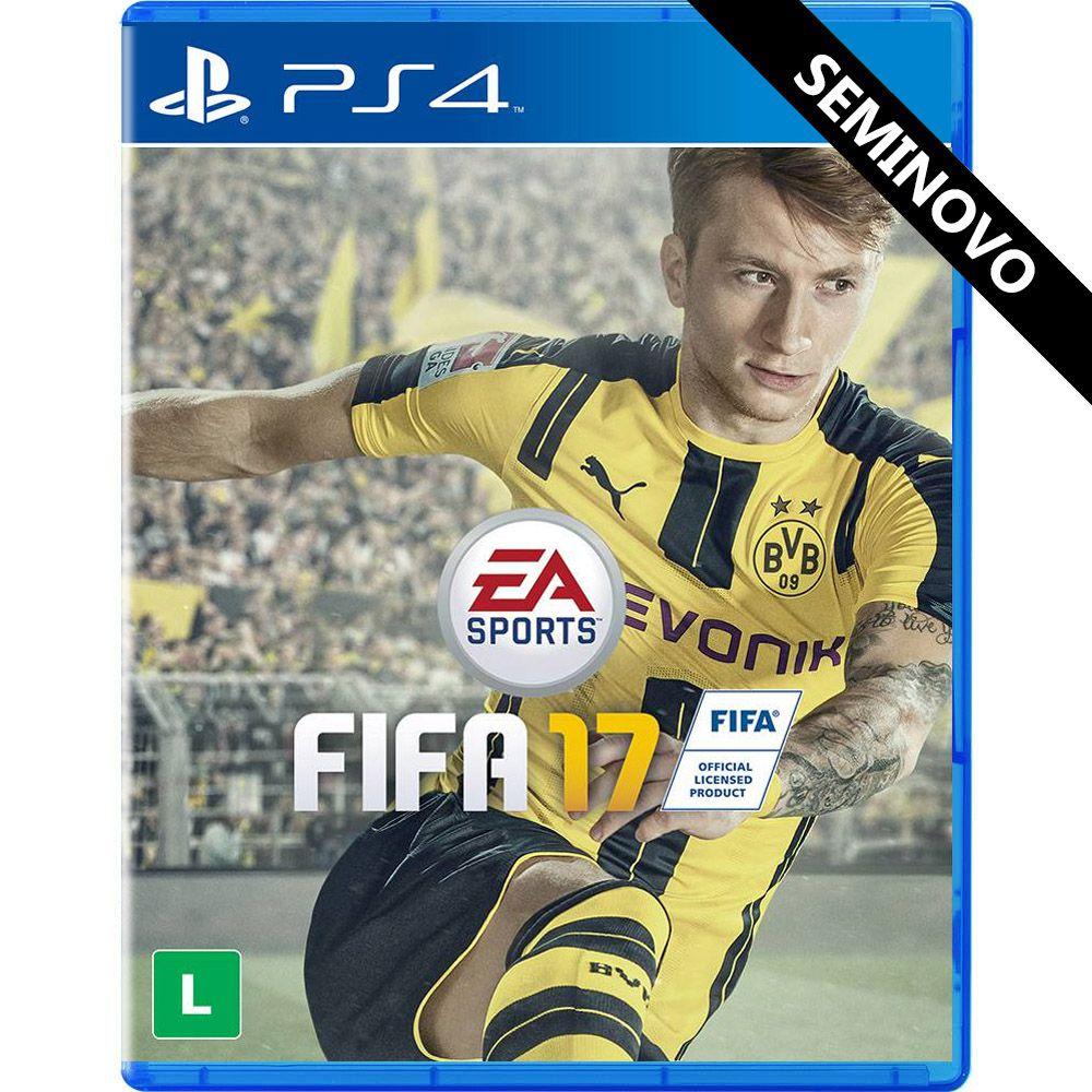 FIFA 17 - PS4 (Seminovo)