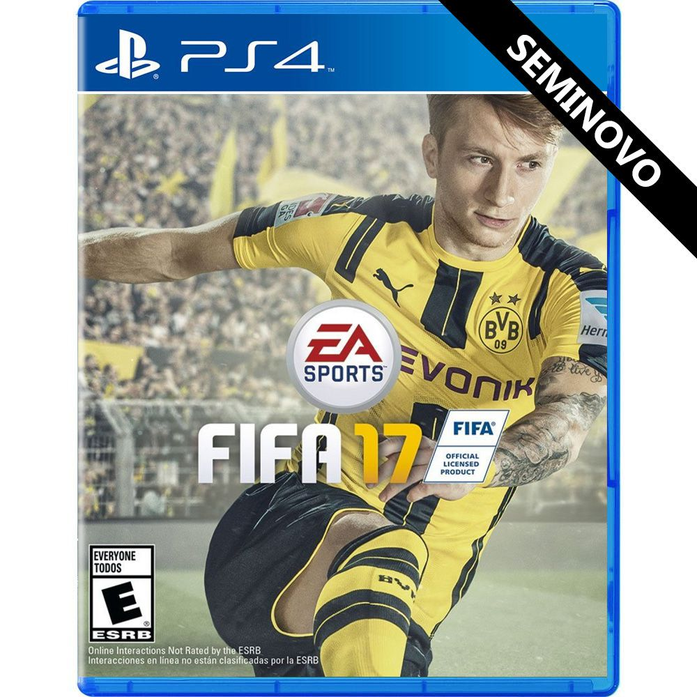 FIFA 17 - PS4 (Seminovo)