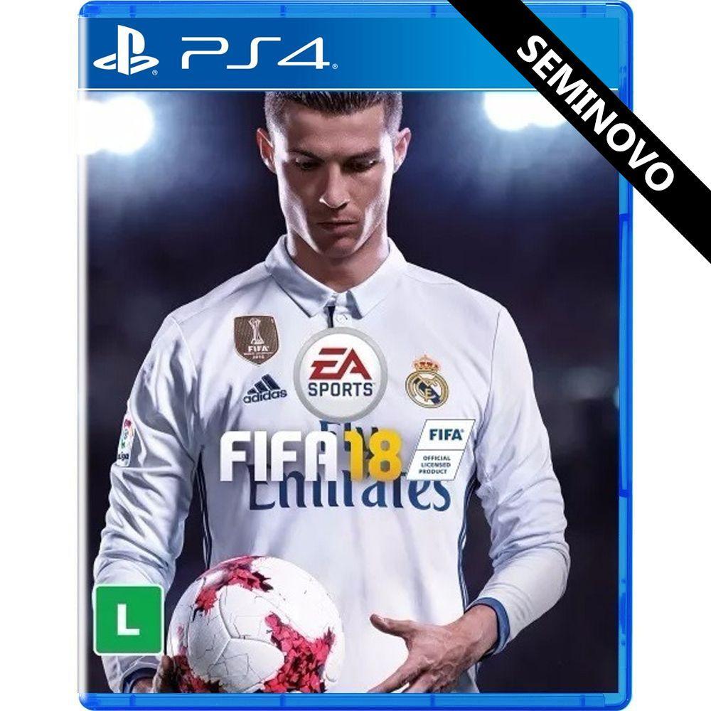 FIFA 18 - PS4 (Seminovo)