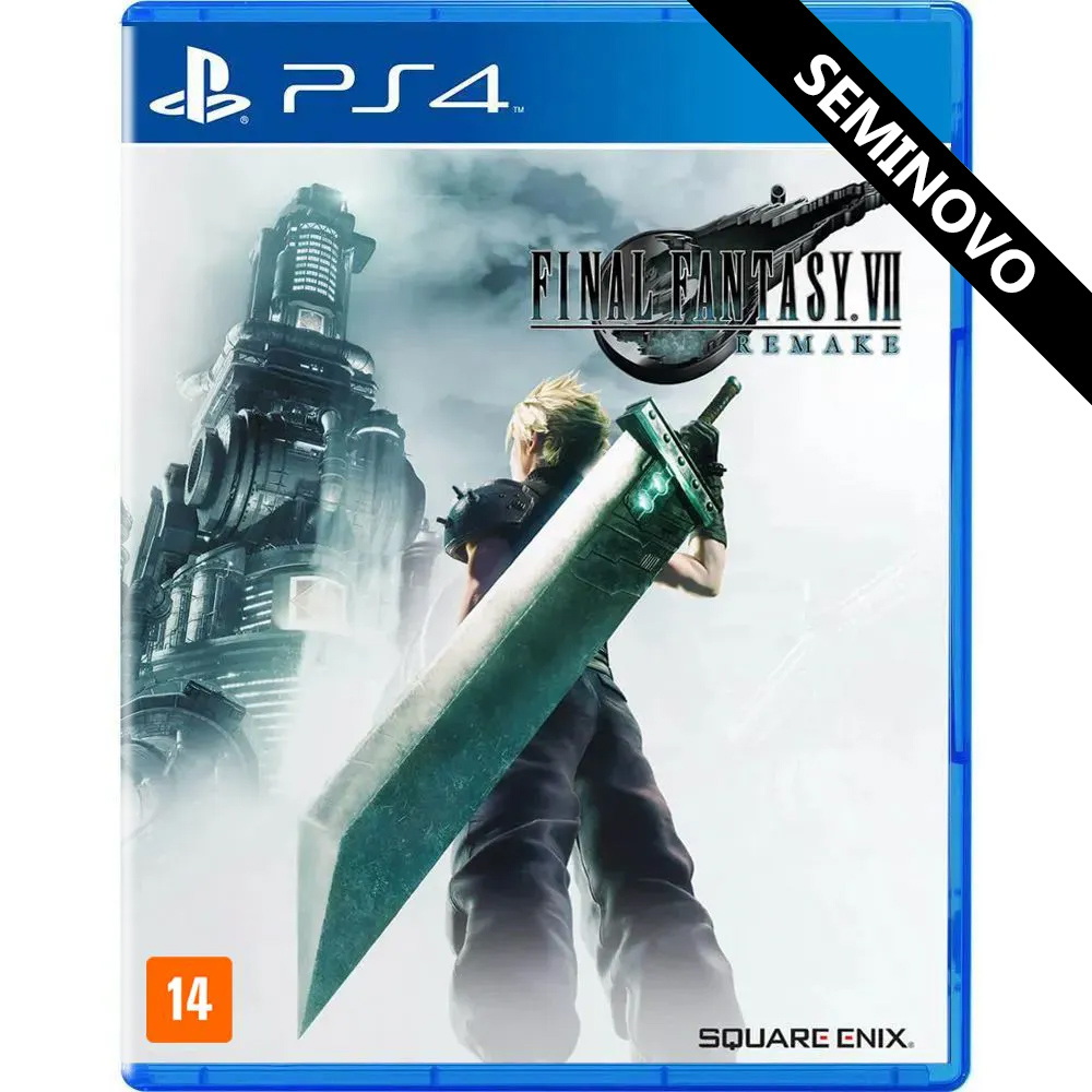 Final Fantasy VII Remake - PS4 (Seminovo)