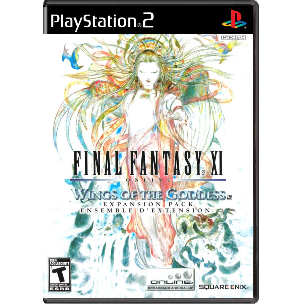 Final Fantasy XI Online: Wings of Goddess - PS2