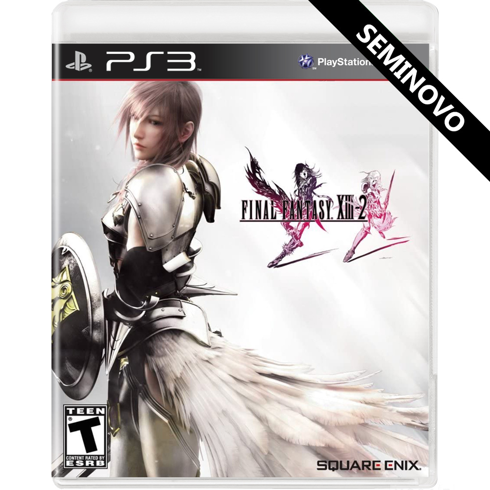 Final Fantasy XIII-2 - PS3 (Seminovo)