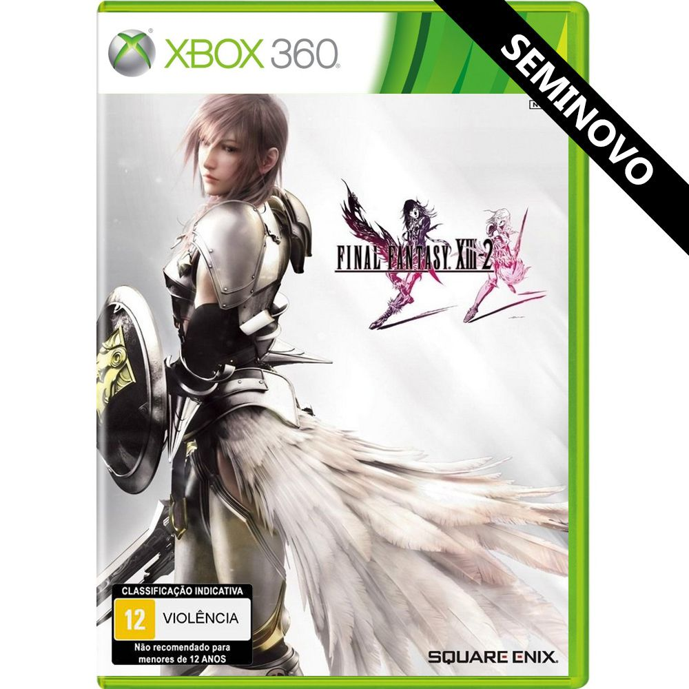 Final Fantasy XIII-2 - Xbox 360 (Seminovo)