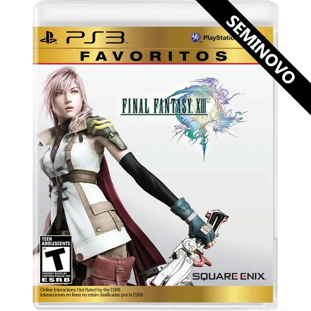 Final Fantasy XIII - PS3 (Seminovo)