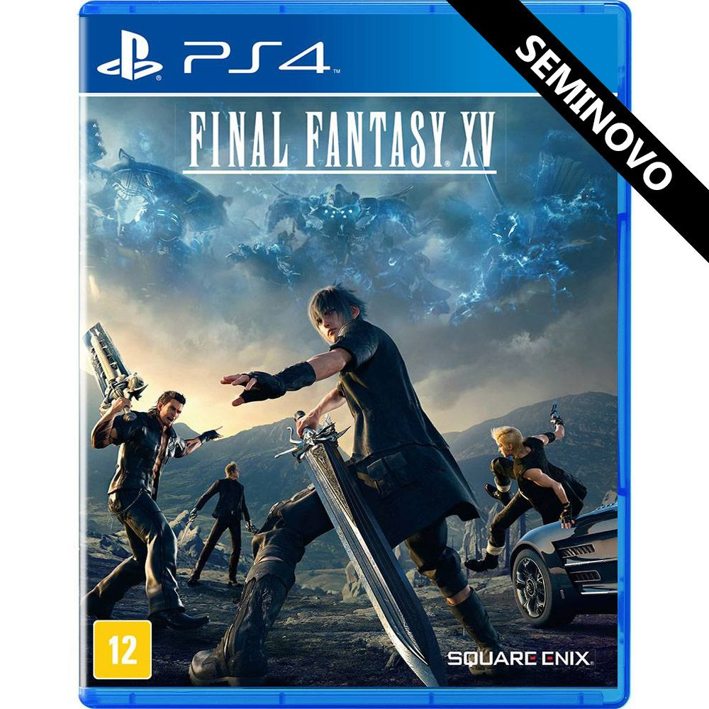 Final Fantasy XV - PS4 (Seminovo)