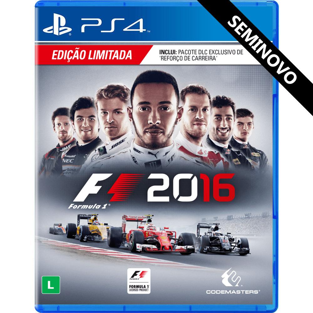 Formula 1 2016 - PS4 (Seminovo)