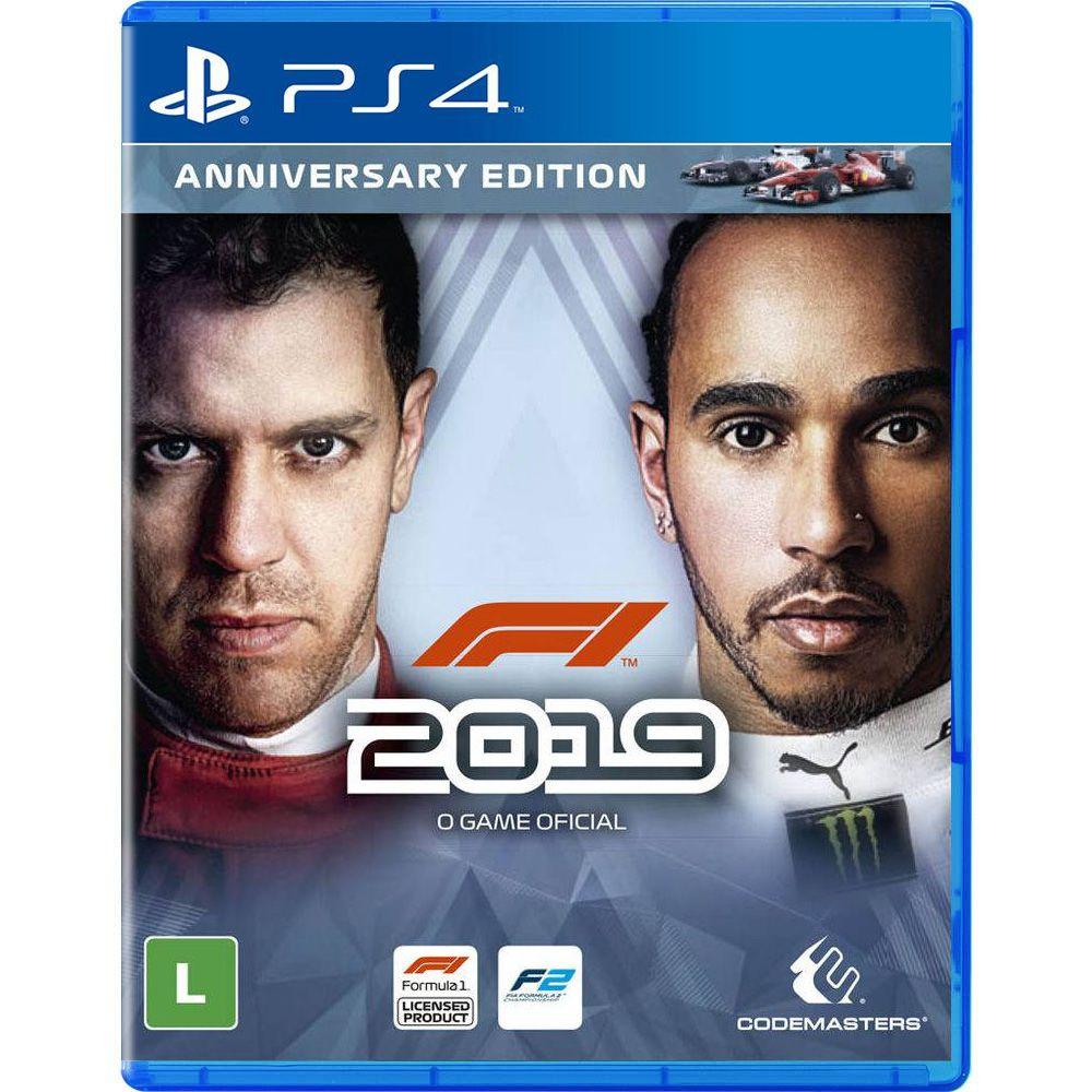 Formula 1 2019 Anniversary Edition - PS4