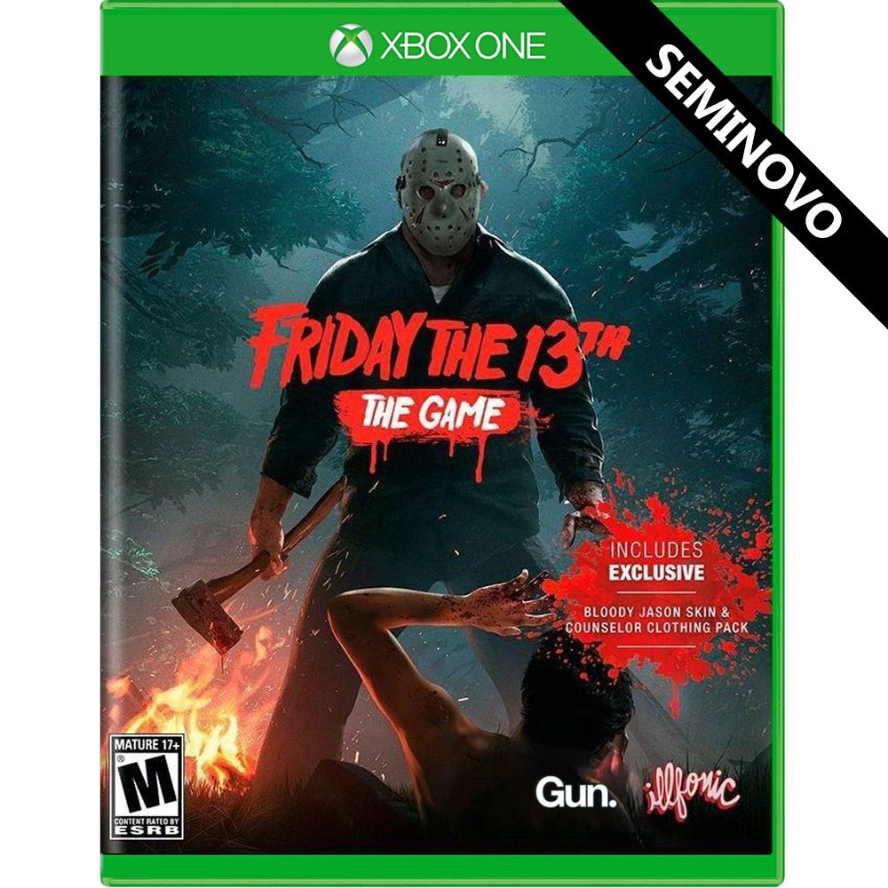 Friday the 13th The Game - Xbox One (Seminovo)