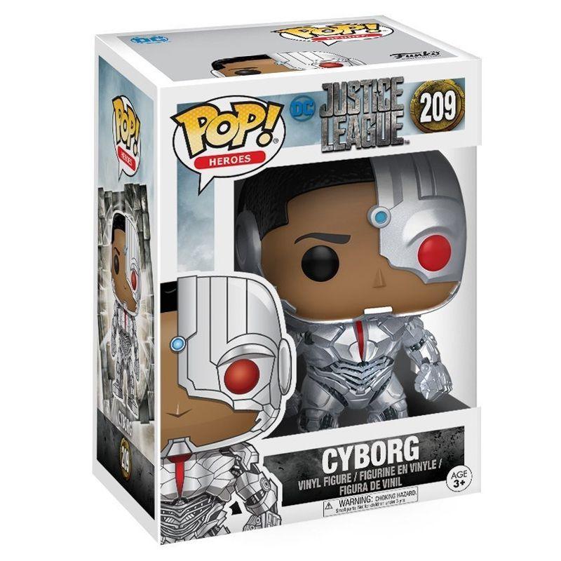 Funko Pop Cyborg (Liga da Justiça) #209