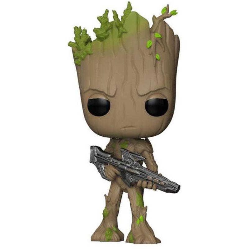 Funko Pop Groot com blaster (Vingadores: Guerra Infinita) #293