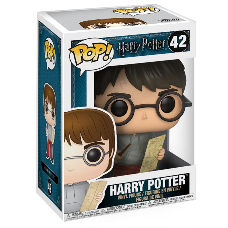 Funko Pop Harry Potter com mapa Maroto (Harry Potter) #42