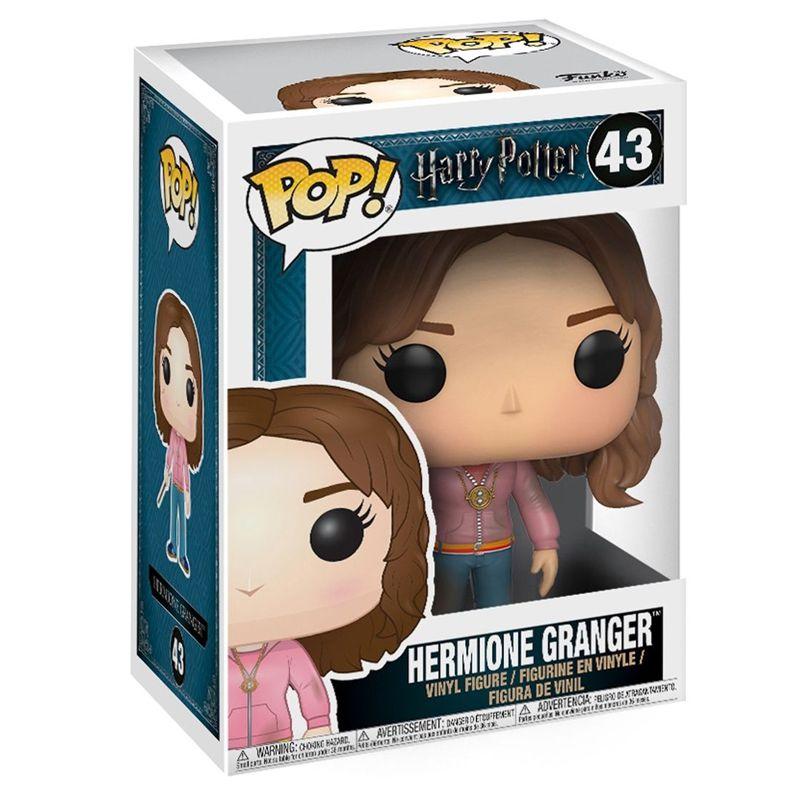 Funko Pop Hermione Granger com colar Vira Tempo (Harry Potter) #43