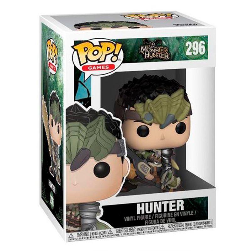Funko Pop Hunter (Monster Hunter) #296