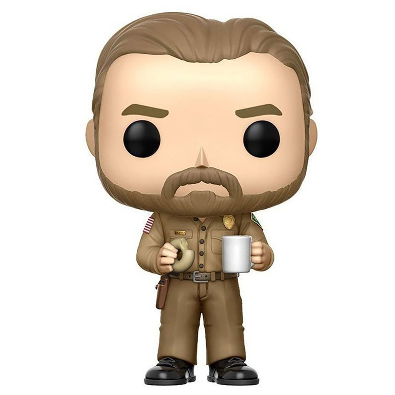Funko Pop Jim Hooper com Donut (Stranger Things) #512