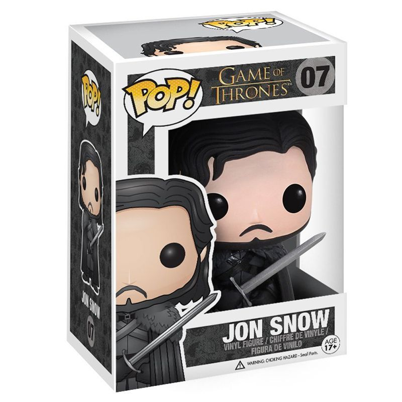 Funko Pop Jon Snow (Game of Thrones) #07