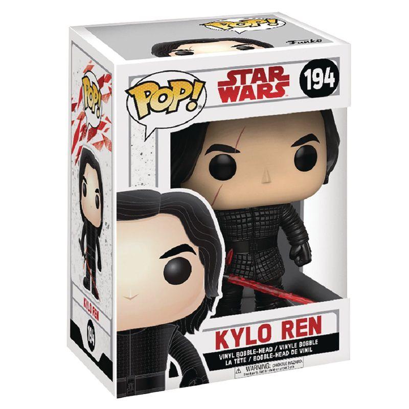 Funko Pop Kylo Ren (Star Wars: Os Últimos Jedi) #194