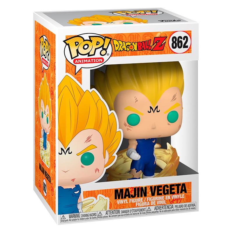 Funko Pop Majin Vegeta (Dragon Ball Z) 862