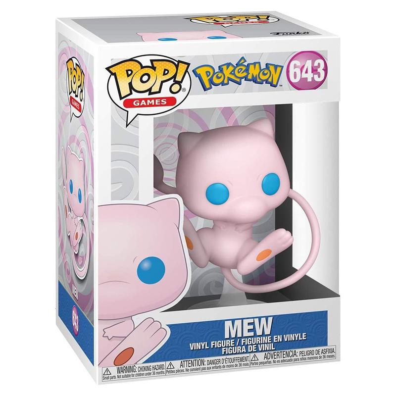Funko Pop Mew (Pokémon) 643