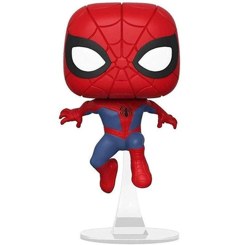 Funko Pop Peter Parker (Homem-Aranha no Aranhaverso) #404