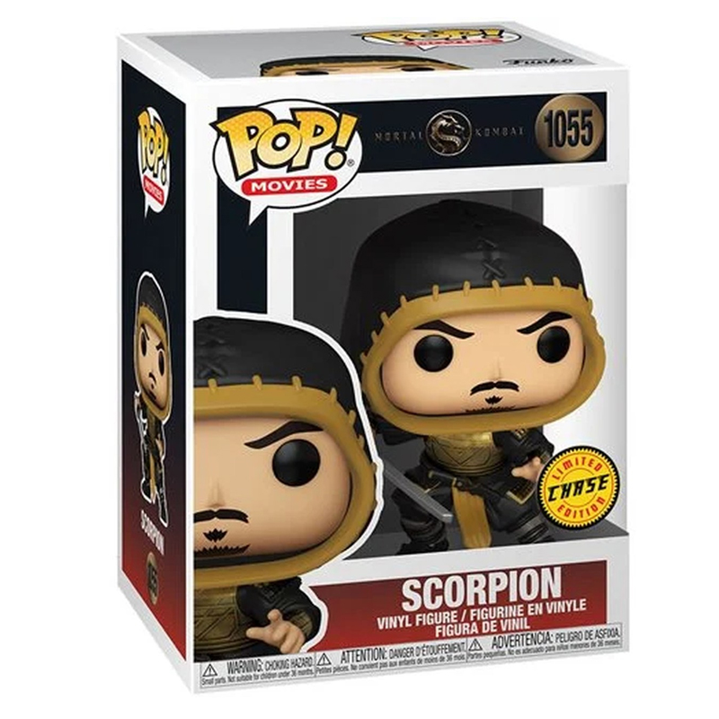 Funko Pop Scorpion sem máscara (Mortal Kombat) 1055