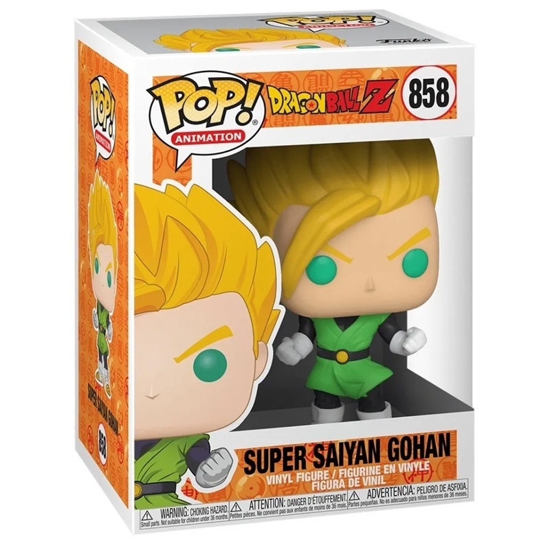 Funko Pop Super Saiyan Gohan (Dragon Ball Z) 858