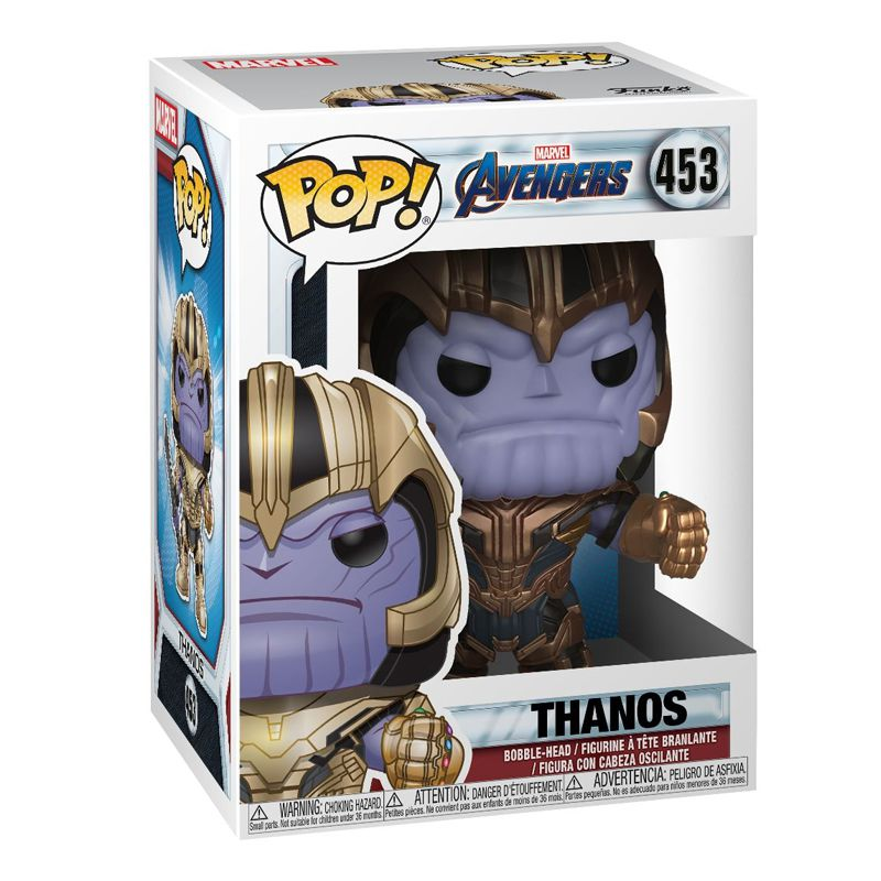 Funko Pop Thanos (Vingadores: Ultimato) #453