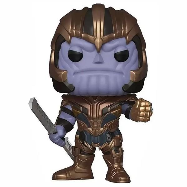 Funko Pop Thanos (Vingadores: Ultimato) #460 Edição Super Size