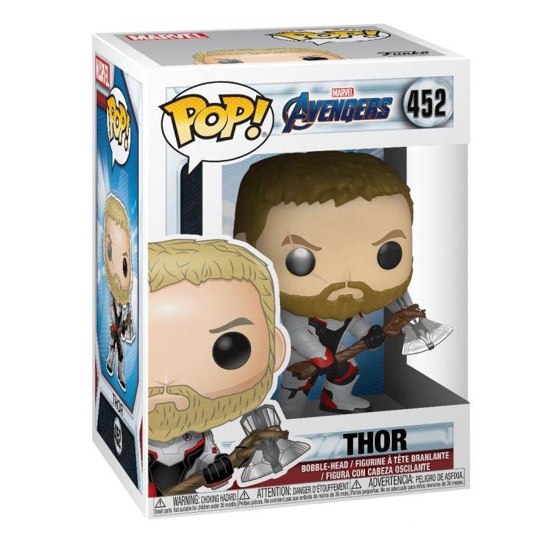 Funko Pop Thor com traje Reino Quântico (Vingadores: Ultimato) #452