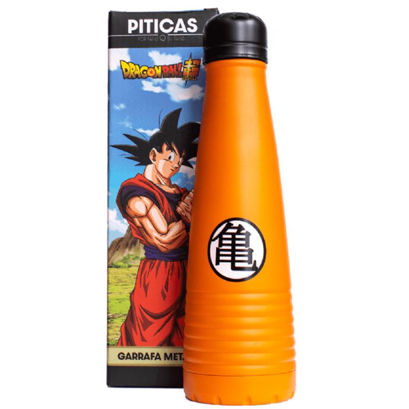 Garrafa Dragon Ball Super Goku Metálica