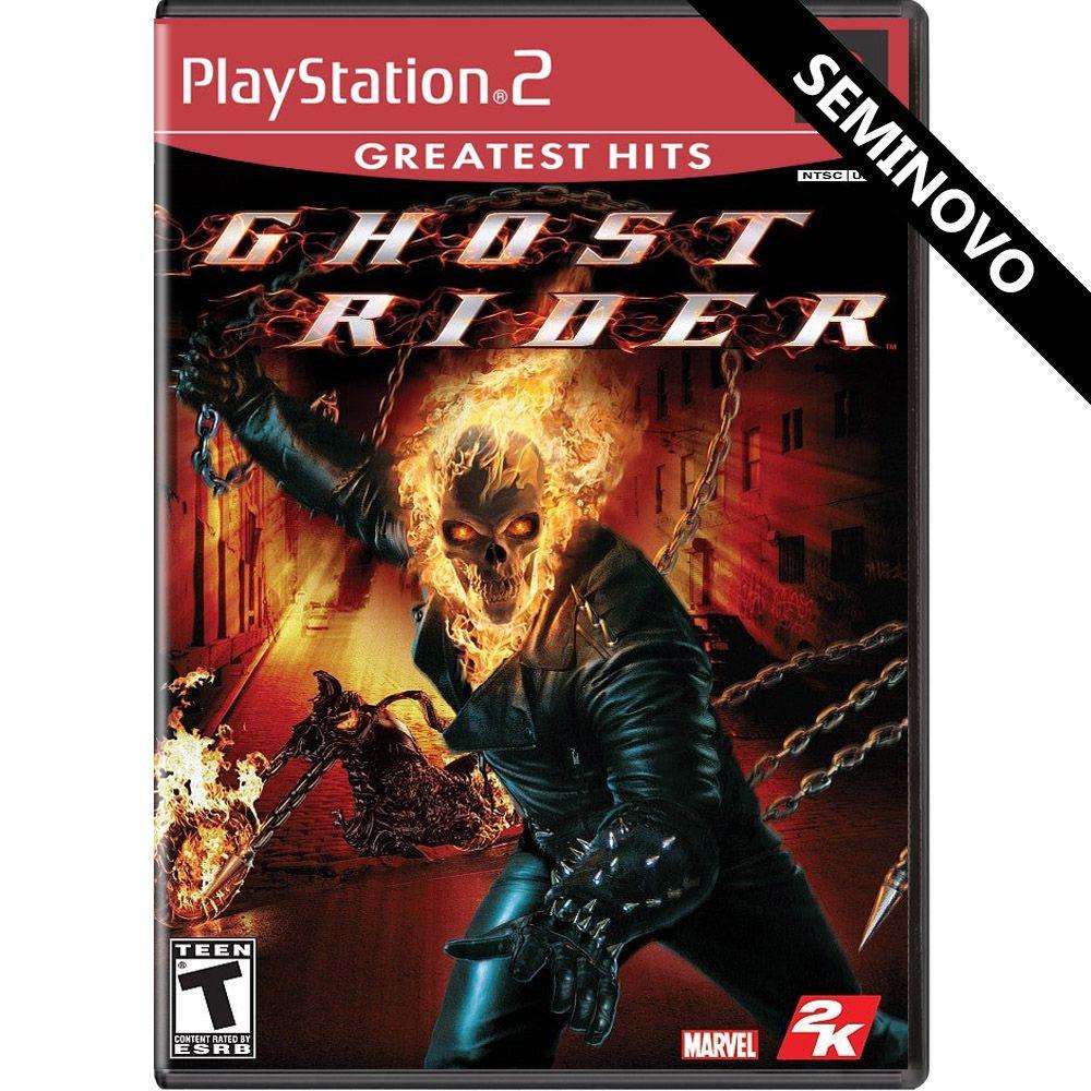 Ghost Rider (Greatest Hits) - PS2 (Seminovo)