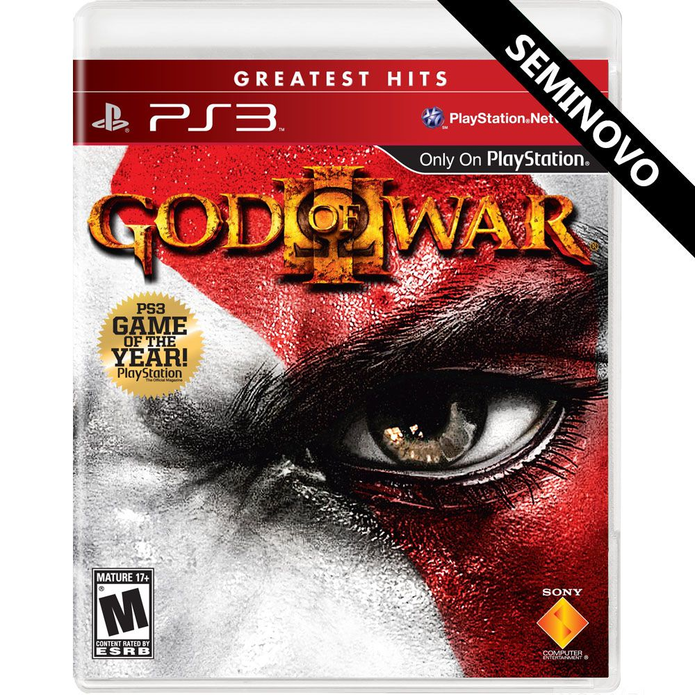 God of War 3 - PS3 (Seminovo)