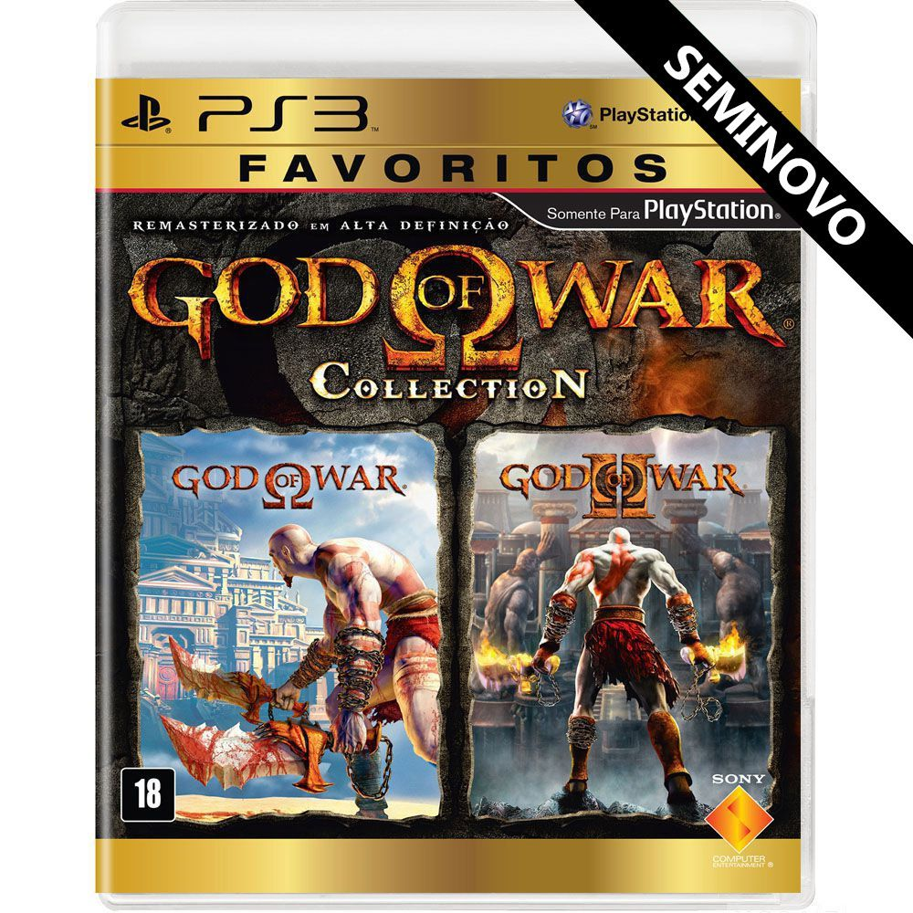 God of War Collection (Seminovo) - PS3