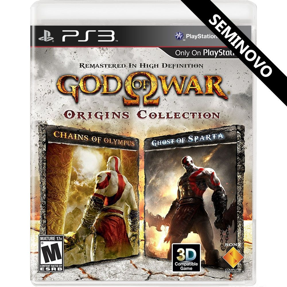 God of War Origins Collection (Seminovo) - PS3