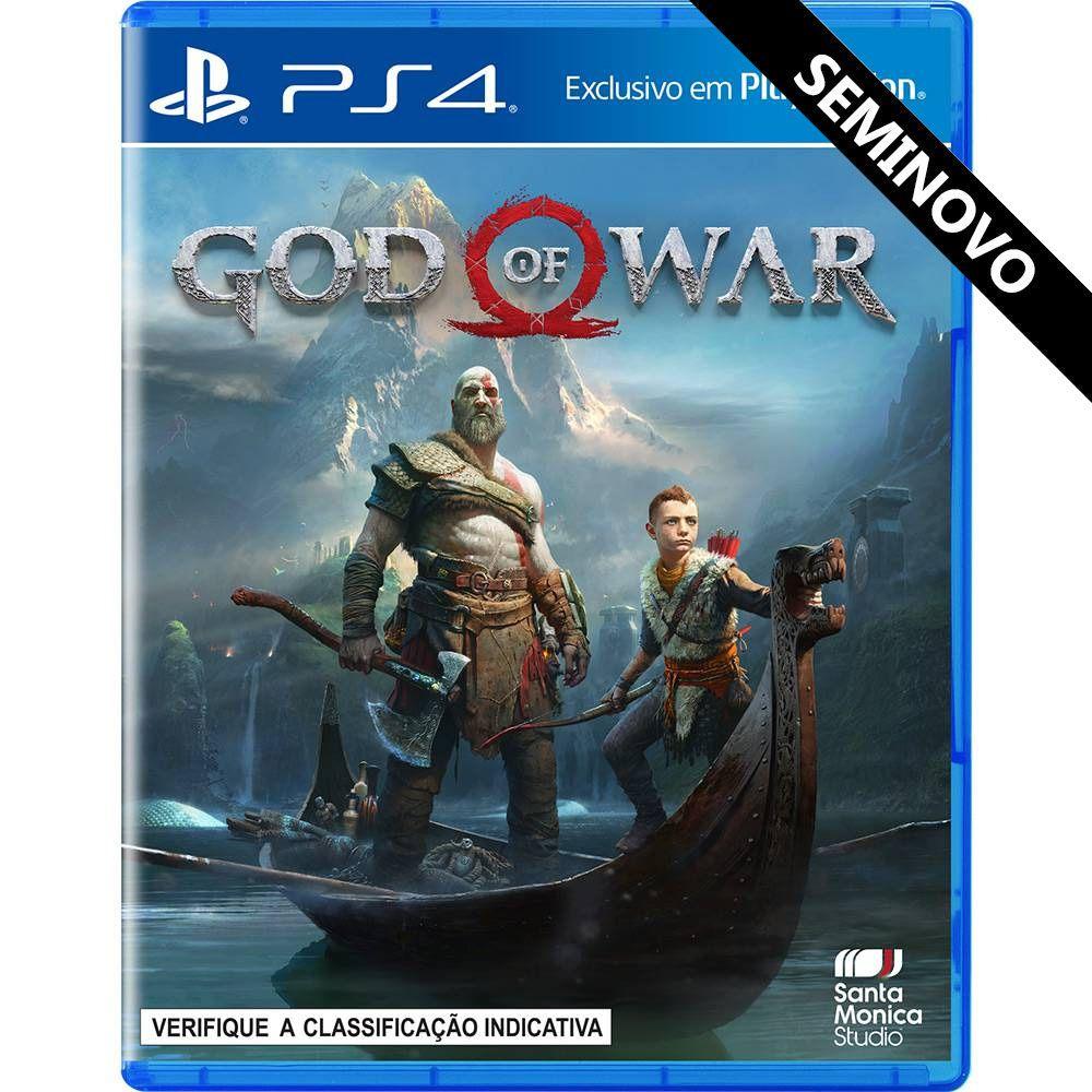 God of War - PS4 (Seminovo)