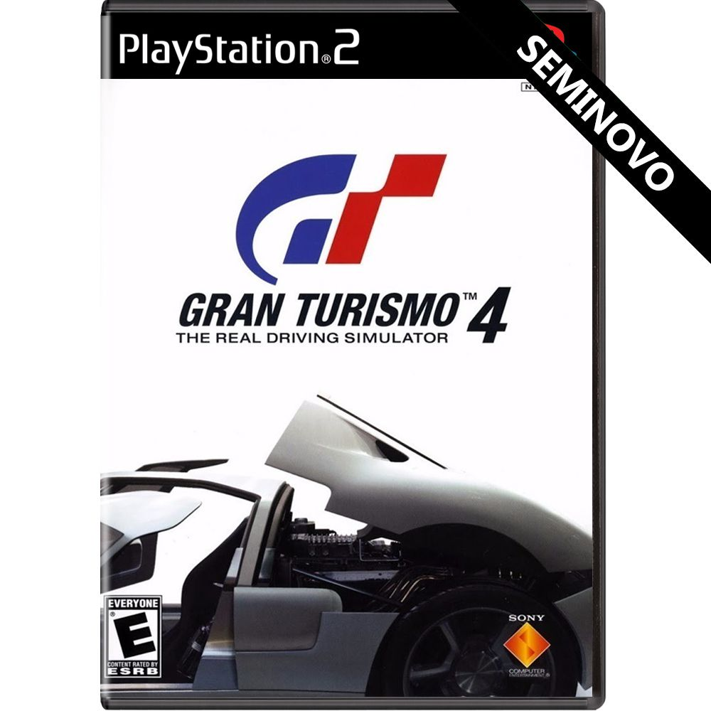 Gran Turismo 4 - PS2 (Seminovo)