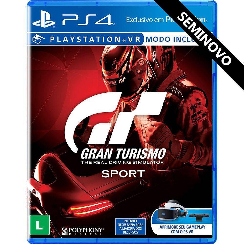 Gran Turismo Sport - PS4 (Seminovo)