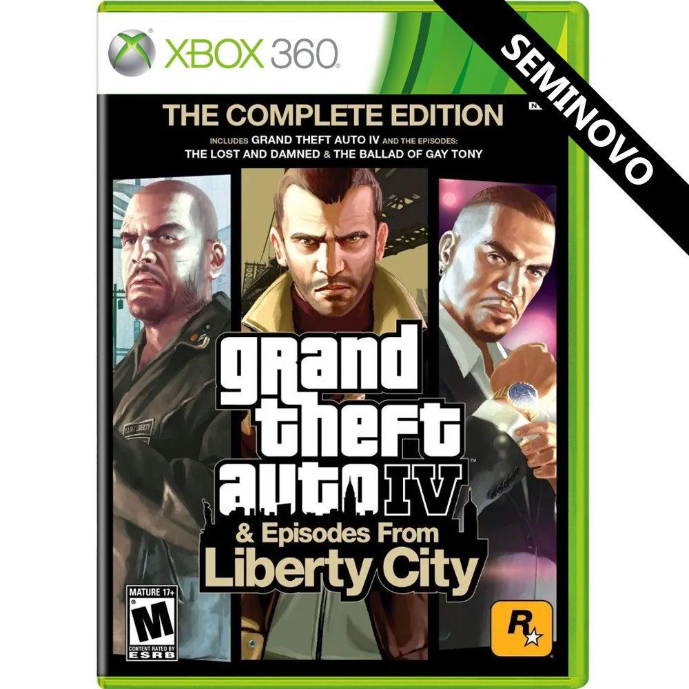 Grand Theft Auto IV The Complete Edition - Xbox 360 (Seminovo)