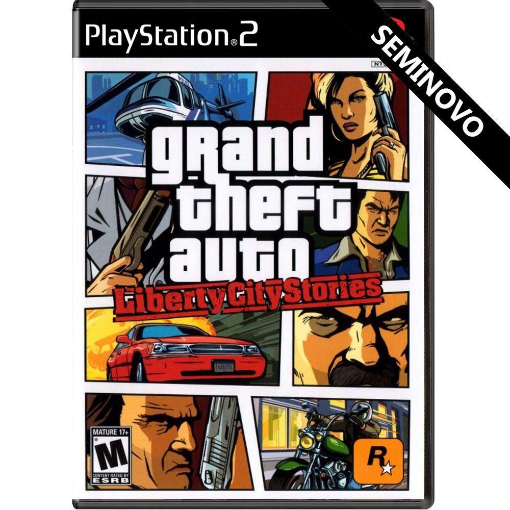 Grand Theft Auto Liberty City Stories - PS2 (Seminovo)