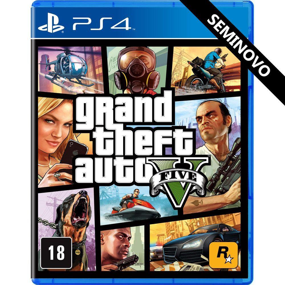 Grand Theft Auto V - PS4 (Seminovo)