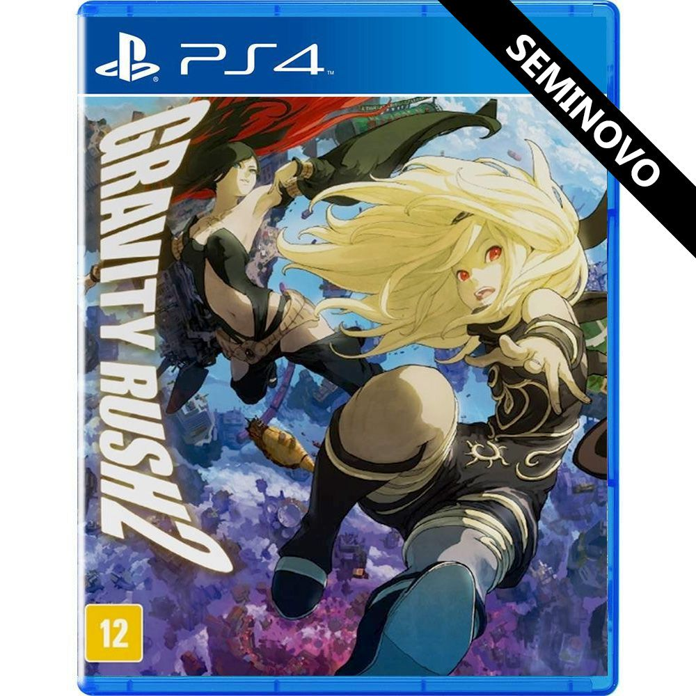 Gravity Rush 2 - PS4 (Seminovo)