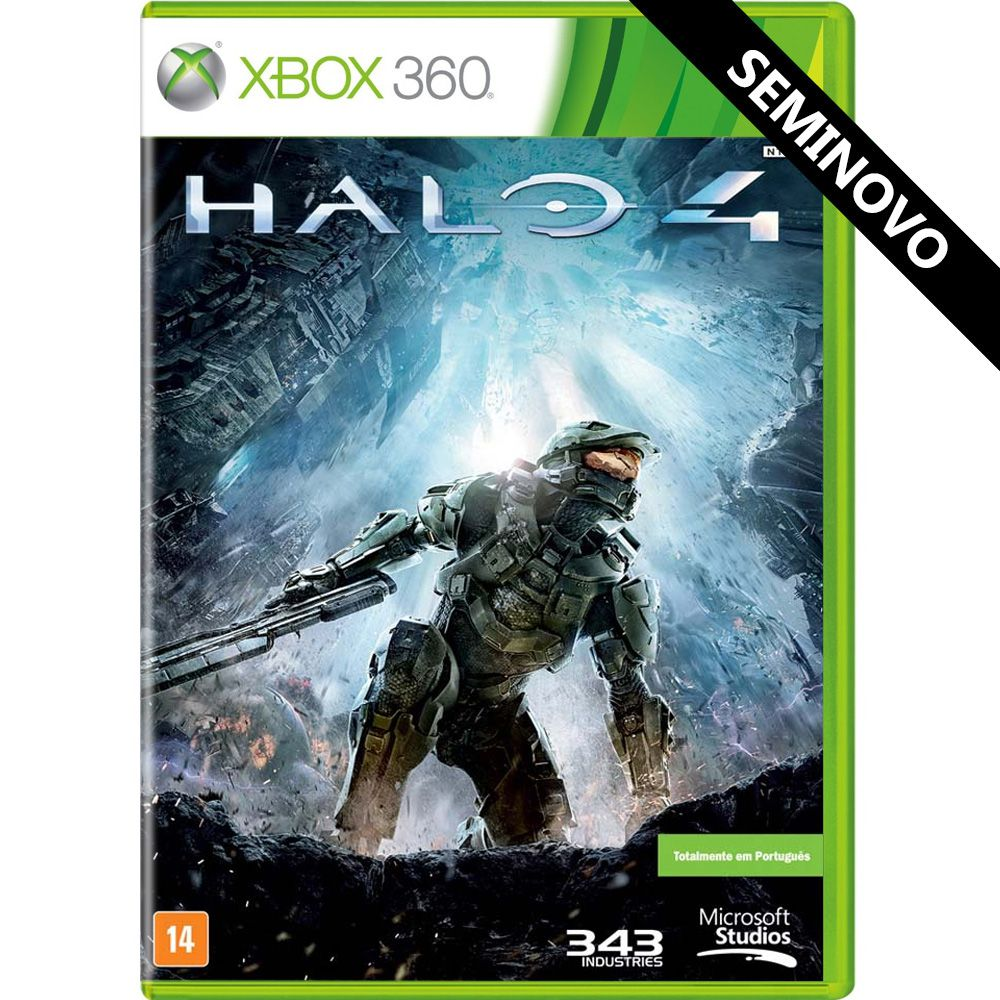 Halo 4 - Xbox 360 (Seminovo)