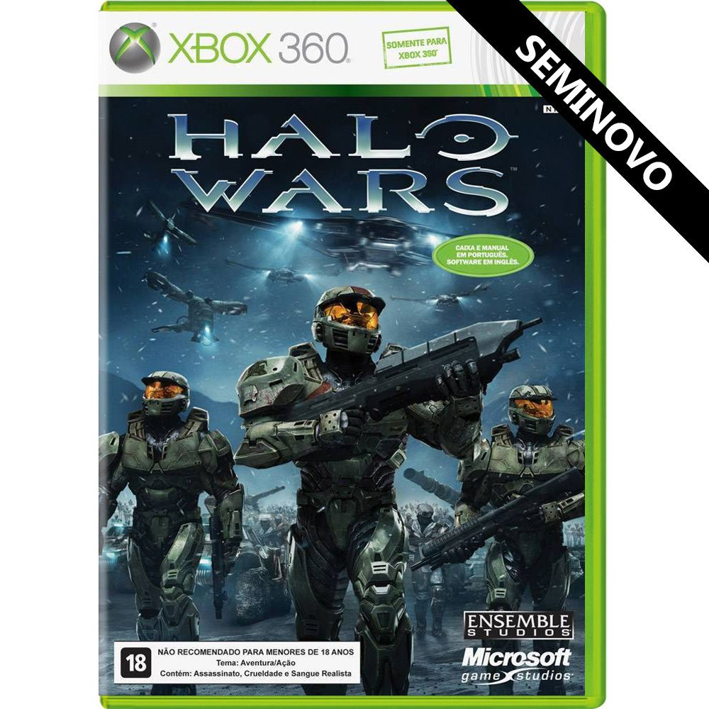 Halo Wars - Xbox 360 (Seminovo)