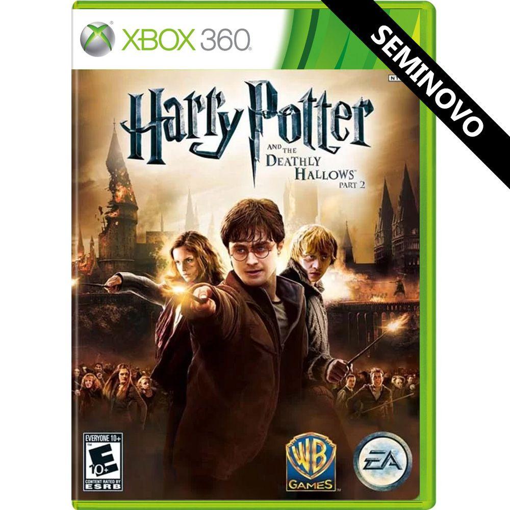 Harry Potter e as Relíquias da Morte Parte 2 - Xbox 360 (Seminovo)