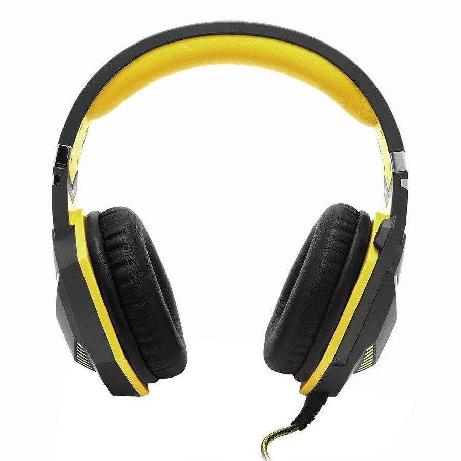 Headset Gamer Amarelo Feir