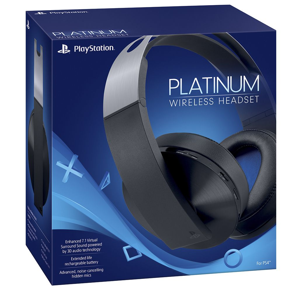 Headset Sony Platinum Wireless 7.1