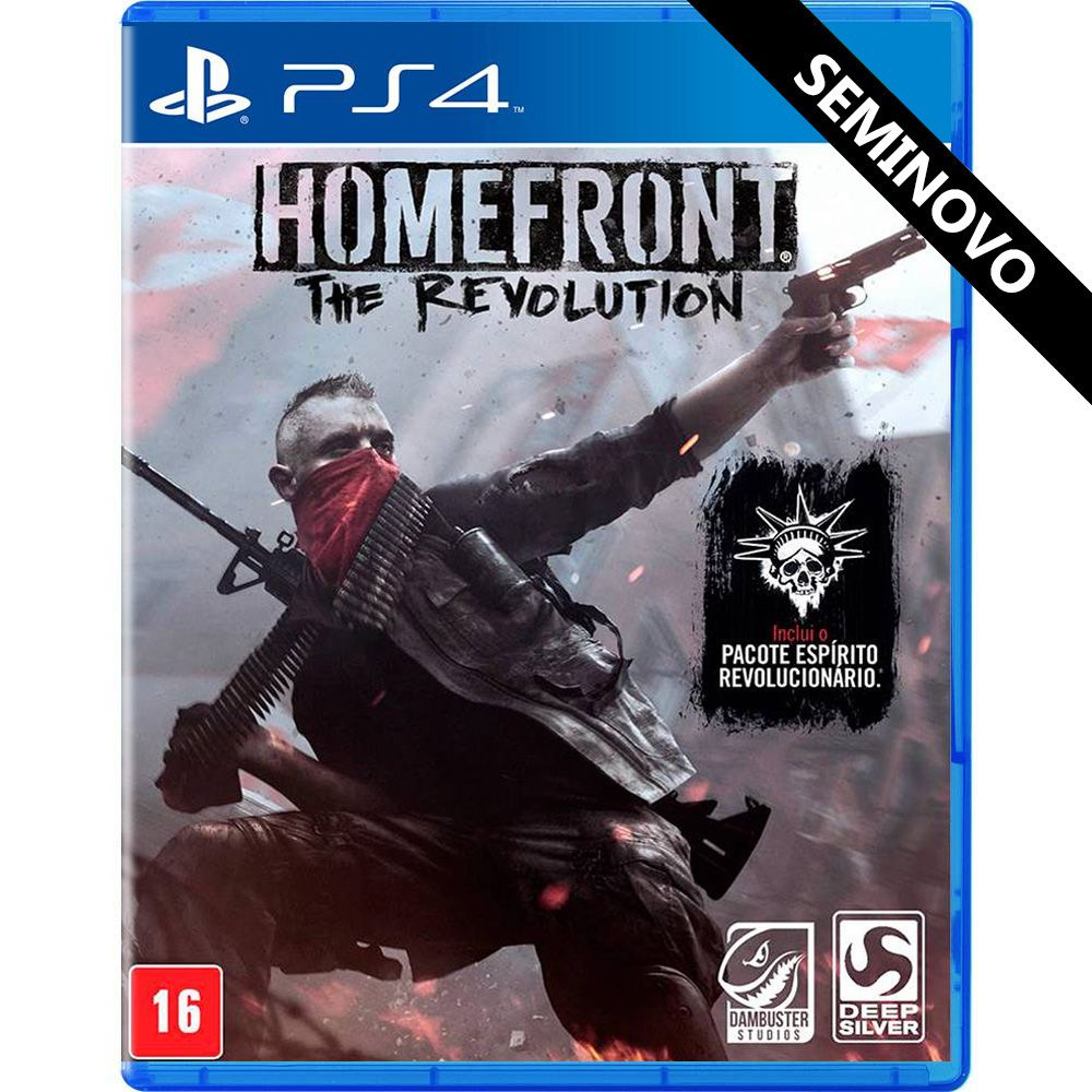 Homefront The Revolution - PS4 (Seminovo)