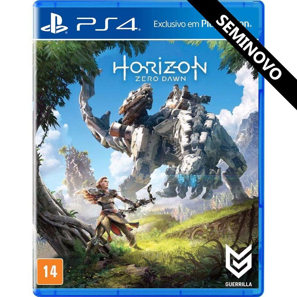 Horizon Zero Dawn - PS4 (Seminovo)