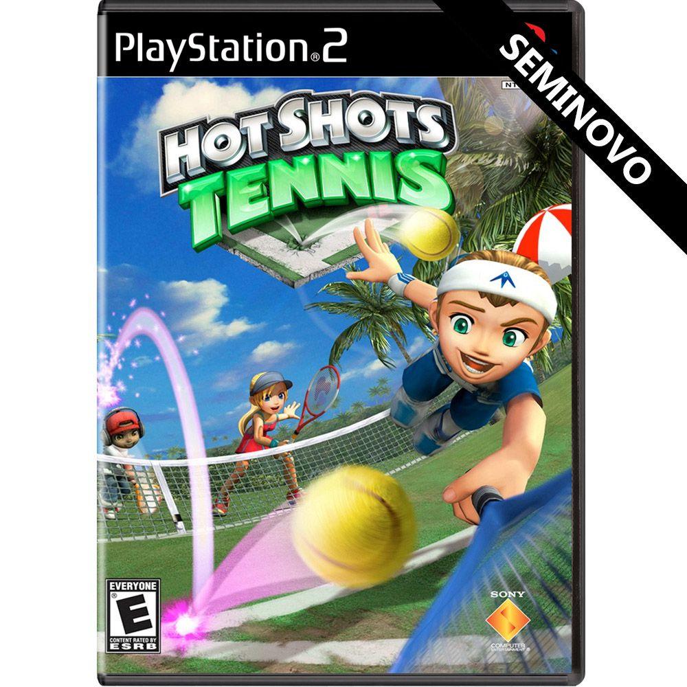 Hot Shots Tennis - PS2 (Seminovo)