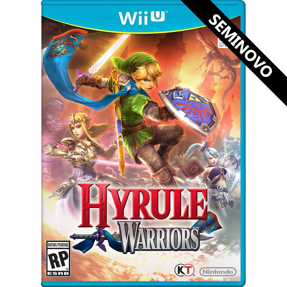 Hyrule Warriors - Wii U (Seminovo)