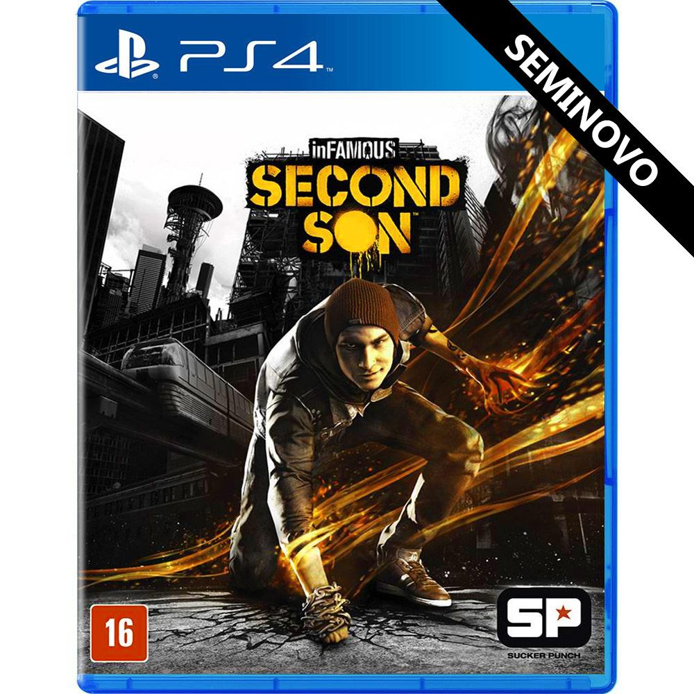 InFamous Second Son - PS4 (Seminovo)